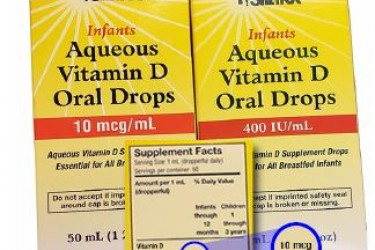 Vitamin D Infant Drops Packagin